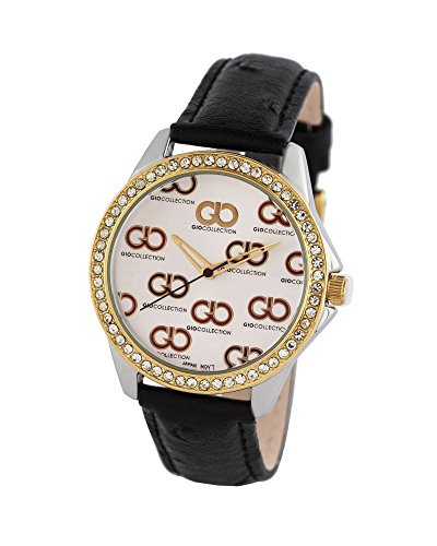 Gio Collection Analog White Dial Women's Watch - G0070-01 image