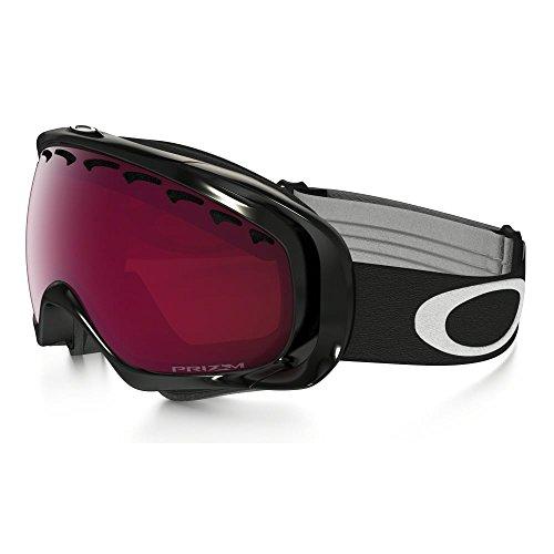 Oakley Crowbar Snow Goggles Jet Ski Einsteigen Prizm Black Rose Dunkelgrau Objektiv