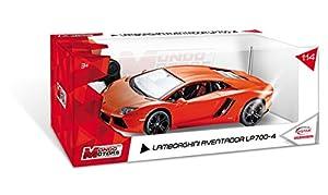 Mondo Motors 63129 - Coche con radiocontrol, escala 1:14, modelo Lamborghini Aventador (surtido: colores aleatorios)