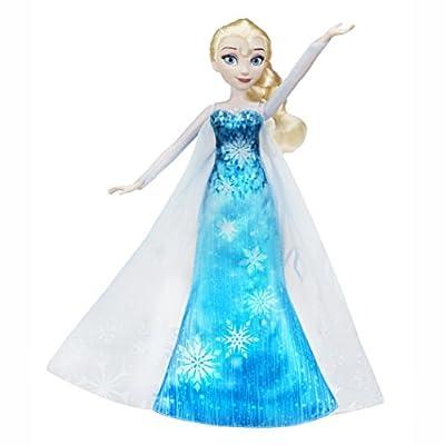 Disney Frozen - Muñeca Vestido Musical de Elsa (Hasbro C0455EU4) por Hasbro