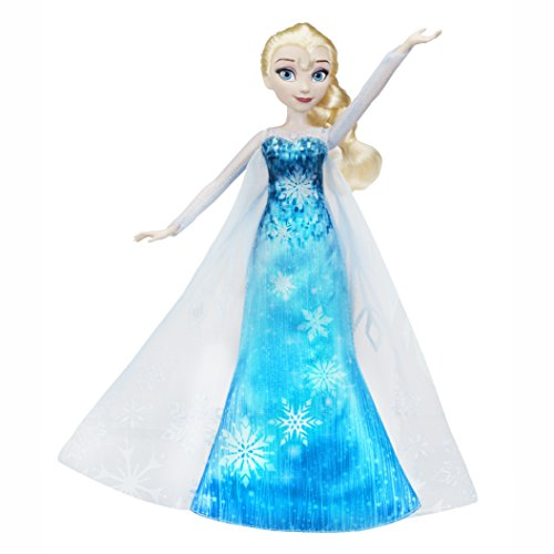 skönigin C0455EU4 - Die Eiskönigin Zaubermelodie Elsa, Puppe (Frozen Olaf Party Supplies)