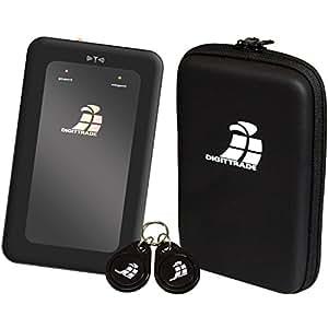 Digittrade Externe Festplatte 500GB Schwarz RS64 RFID Security Portable HDD (6,4 cm (2,5 Zoll), 5400rpm, 8MB Cache, SATA, USB 2.0) Verschlüsselung