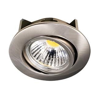 Nobile LED-Einbaustrahler A 5068 T Flat 8 W, rund, nickel-gebürstet 1856690923