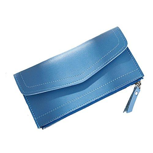 Fashion Portafoglio Ultrasottile 2pcs Multi-color Blue2