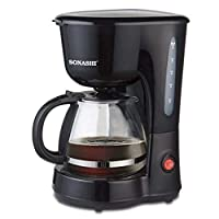 SONASHI DRIP COFFEE MAKER,SCM-4920-600W BLACK