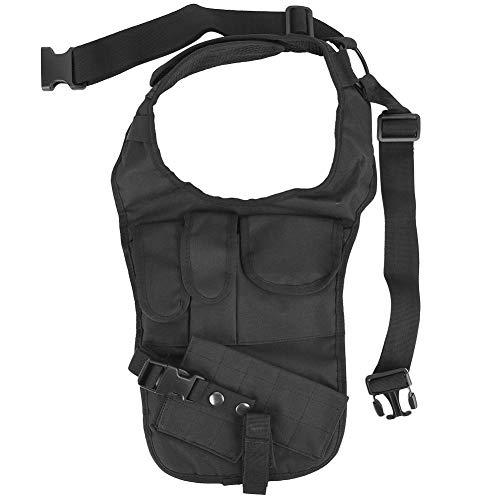 Wolfgo Tactical Waist-Nylon Black Military Unterarm verdeckte Pistolenhalfter Achsel Schulter Tasche -