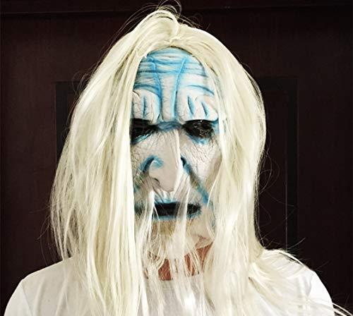 Halloween Ghost Festival Horror Maske Überraschung Geist Gesichtsmaske Cosplay Maske Latex Scary Voller Kopf Horror Maske Scary Vollmaske Halloween Cosplay Kostüm Requisiten