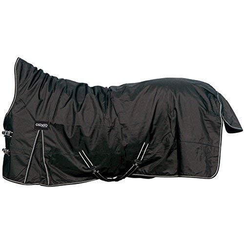 CATAGO Outdoordecke Justin für Pferde, 300g - schwarz - 125 cm