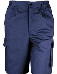 Workguard de Rusult - Pantalones cortos de deporte aire libre / trabajar Unisex Hombre Mujer - Trabajo/Alpinismo