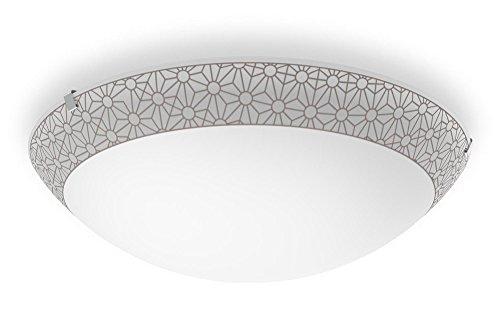 Philips myLiving LED Deckenleuchte Ballan 22W, weiß/bronze (Bronze Leuchte)