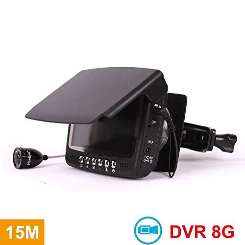 Guo Video Fish Finder Unterwasser EIS Video Fishfinder Fischerkamera 8Pcs Infrarot LED 4,3