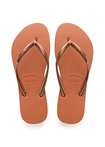 Havaianas Damen Slim Zehentrenner, Orange (Orange Bronze), 39/40 EU (37/38 BR)