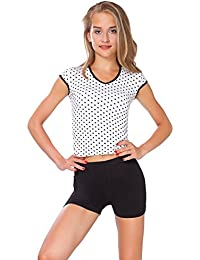 FUTURO FASHION Super Doux Short Coton Extensible élastique Yoga Slip UK 8-22 psl5