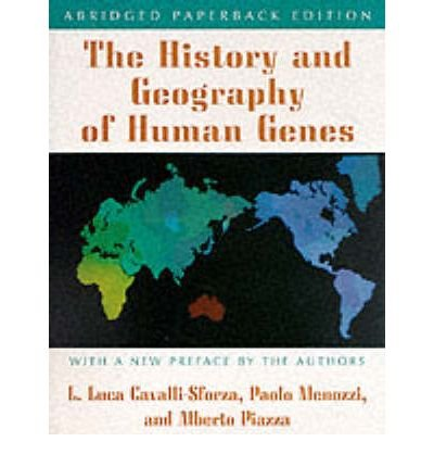 [(The History and Geography of Human Genes)] [Author: L.L. Cavalli-Sforza] published on (August, 1996)