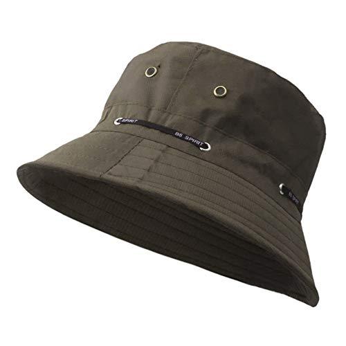 Preisvergleich Produktbild OPDTNSR Eimer Kappe Unisex Angeln Polyester Urlaub Einfache Reise Männer Sonnenschirm Camping Sommer Hut,  B