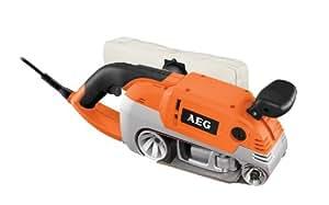 AEG HBS 1000 E Orange Ponceuse à Bande Limage 75mm 1010W (Import Allemagne)