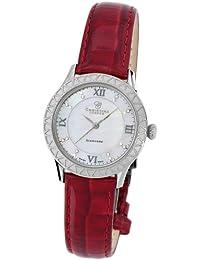 Christina London Damen-Armbanduhr Analog Quarz Leder 134SWR2
