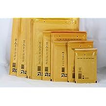 """(40unidades) 15/E–-9""""x 10""""–-E/15–-240x 270mm Craft papel Kraft burbuja sobres acolchados sobres bolsa Envío"""