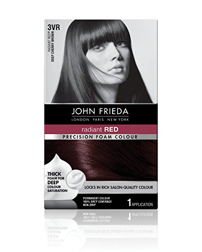 John Frieda precisión espuma color 3VR Deep Cherry