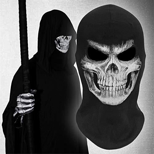 Gugutogo Totenkopf Geist Masken Halloween Punisher Deathstroke Reaper Vollgesichtsmaske -