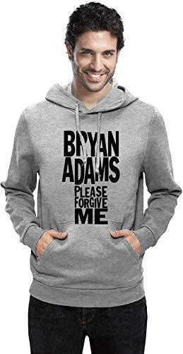 Bryan Adams Bitte verzeih Please Forgive Me Men Hoodie Sweatshirt Stylish Fashion Fit Custom Apparel by Medium -