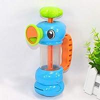Ruiyiheng Functional Baby Shower Bath Toys for Children Kids Bathtub Bathroom Swimming Pool Hippocampus Spray Water Pump Beach Toys Educational Gifts