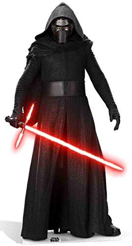 Ren - The Force Awakens - Star-Wars Höhe ca. 184cm Aufsteller Figur Kinoaufsteller Pappfigur Cardboard Lebensgroß Life-Size Standup ()