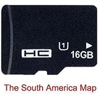 Tarjeta de navegación de mapas GPS 16G para Micro SD Clase 10 TF el mapa más reciente para WinCE Car DVD Player Navigation Rusia España España España Francia Italia Reino Unido Europa Australia EE.UU.