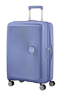 American Tourister Soundbox Spinner Espandibile Bagaglio A Mano, 67 cm, 71,5/81 L, 3,7 Kg, Blu (Denim Blue) (B079M2MKJL) | Amazon price tracker / tracking, Amazon price history charts, Amazon price watches, Amazon price drop alerts