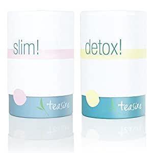 Teasire Body Kur – Der leckere Detox Tee zum Abnehmen und gesundem Entschlacken | Ideal für deine Diät oder Detox Kur – bio & vegan, 2x50g