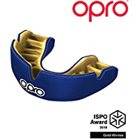 Opro Power-Fit Tinta unita - Blu Scuro/Oro