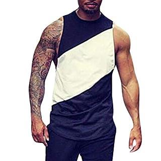 Anglewolf Mens Body Shaper Slimming Shirt Compression Vest Elastic Slim Shapewear Grams Men's Singlet Business Produced Technical Sports Everyday Use Sleeveless Shirts(Black 2,M)