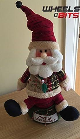 j-home beweglichen Sing Dancing Santa Claus 36,8cm Zoll Singen Frohe Weihnachten 310 (Dancing Santa Weihnachten)