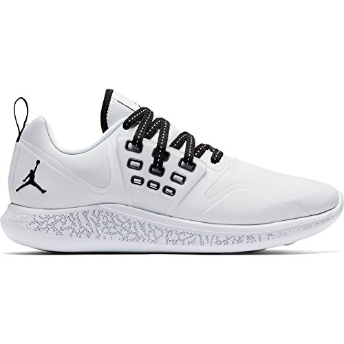 Nike Herren Jordan Grind Basketballschuhe, Weiß (White/Black 110), 43 EU (Herren Nike Jordan Basketball-schuhe)