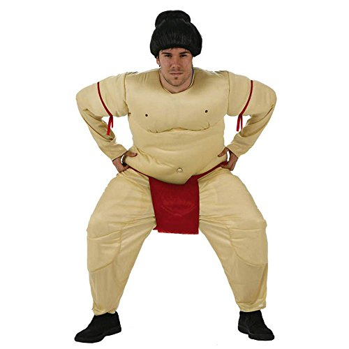Partyklar Sumoringer Sumoanzug Sumo Kämpfer Japan Herrenkostüm - Sumo Kämpfer Kostüm
