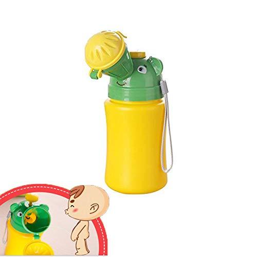 Inchant portatile del bambino dei bambini più piccoli Potty Orinatoio servizi igienici di emergenza per Camping Car viaggi e Kid Potty Training Pee (ragazzo)