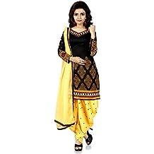 Dubai Creation Women's Pure Cotton Unstitched Salwar Suit Dress Material