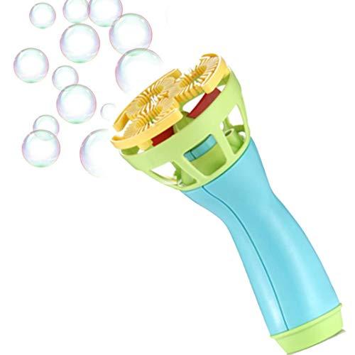 BZLine® Elektrische Bubble Wands Maschine Bubble Maker automatische Gebläse Bunte Seifenblasen Maschine für Kinder und Erwachsene | Partys | Lustiger Outdoor Spielzeug (Blau) (Bubble Guns Für Hochzeiten)