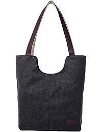 Women's Canvas Shoulder Hand Bag Tote Bag