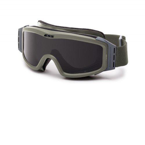 ESS Eyewear Profil Night Vision kompatibel Goggle, Unisex, Laubgrün