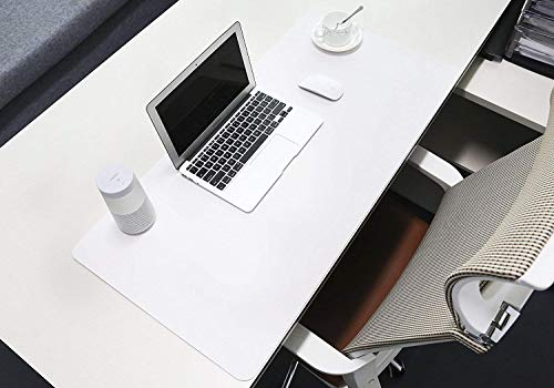 Preisvergleich Produktbild Leder Schreibtisch Matte,  Schreibtischmatte Großes Mousepad 600x400 Schreibtischunterlage Wasserdicht Anti Rutsch Matte für Computer,  PC und Laptop