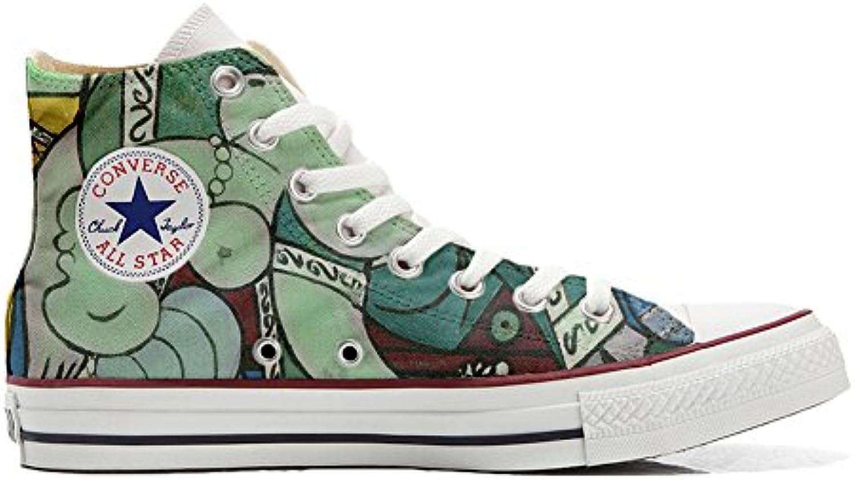 Shoes Custom Converse All Star  personalisierte Schuhe (Handwerk Produkt) kuumlnstlerischen