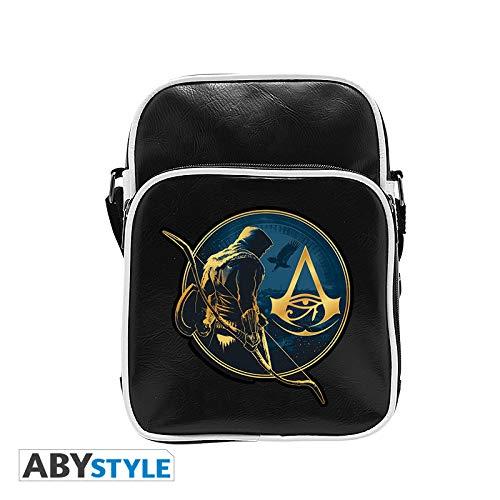 ABYstyle Abysse Corp _ abybag264Assassin 's Creed-Messenger Bag-Origins-Vinyl KLEINE Größe-Haken