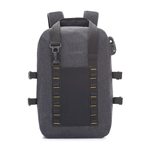 PacSafe Pacsafe Dry 25L Anti-Theft Backpack Rucksack, 46 cm, 25 liters, Grau (Charcoal 104)