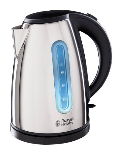 Russell Hobbs Orleans Polished Kettle 19390, 1.7 L, 3000 W – Stainless Steel Silver