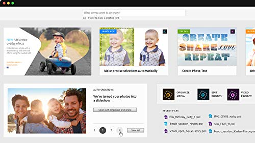 Adobe Photoshop Elements 2019 & Premiere Elements 2019 | Student & Teacher - Englisch | PC/Mac | Disc