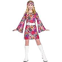 Girls 60'S Retro Gogo Girl Fancy Dress