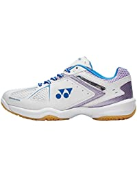 Nuevo Yonex Power Cushion 35 Lad Sports Badminton Calzado Blanco, Blanco, 39.5