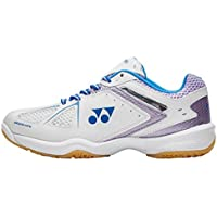Yonex Power Cushion 35 Lad Sports Badminton Calzado Blanco, Blanco, 39.5