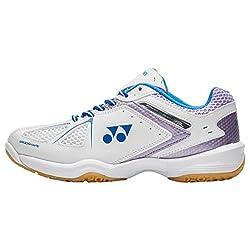 Nuevo Yonex Power Cushion 35 Lad Sports Badminton Calzado Blanco, Blanco, 37